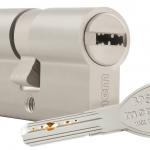Cerradura 701-3 Inox Cilindrp BPS