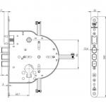 Cilindro 606 plano